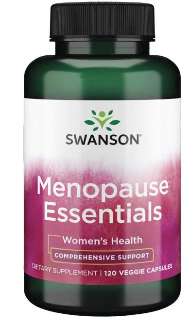 Swanson Menopause Essentials (ženské zdraví), 120 kapslí