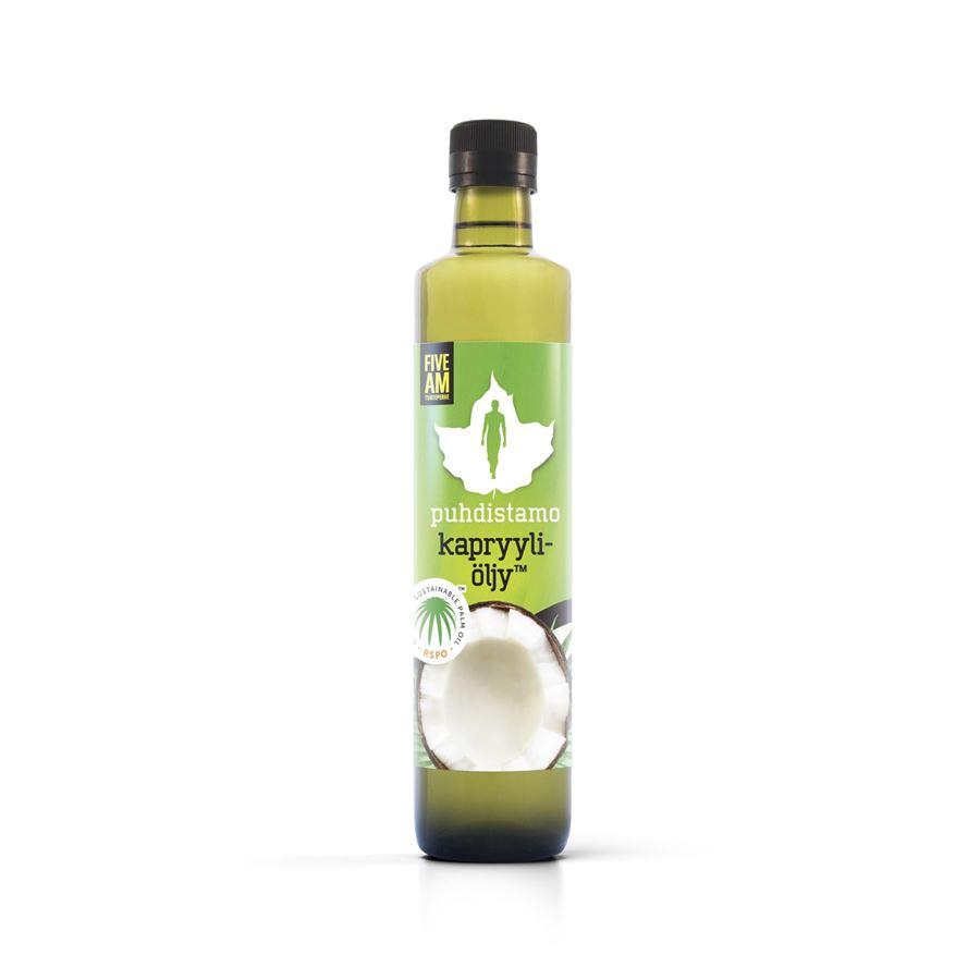 Puhdistamo - Caprylic Oil 500ml (Olej s kyselinou kaprylovou)