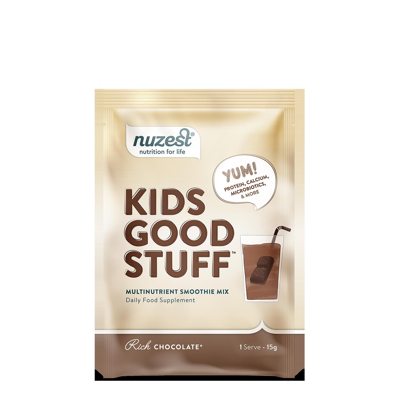 Nuzest - Kids Good Stuff, Rich Chocolate Balení: 15g
