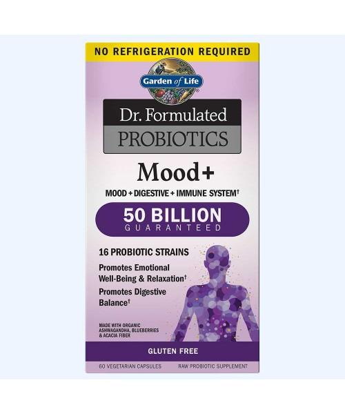 Garden of life Dr. Formulated Probiotika pro podporu nálady, 60 vegetariánských kapslí