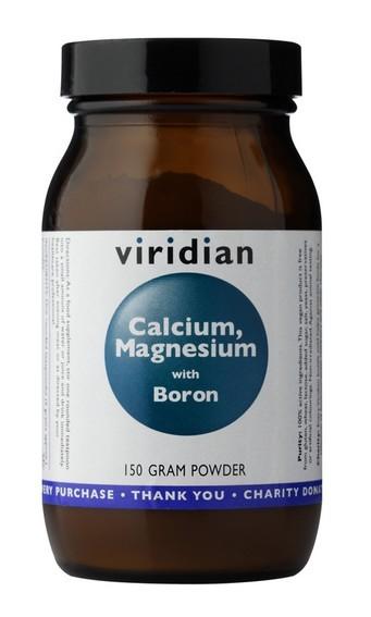 Viridian Calcium Magnesium with Boron Powder 150g