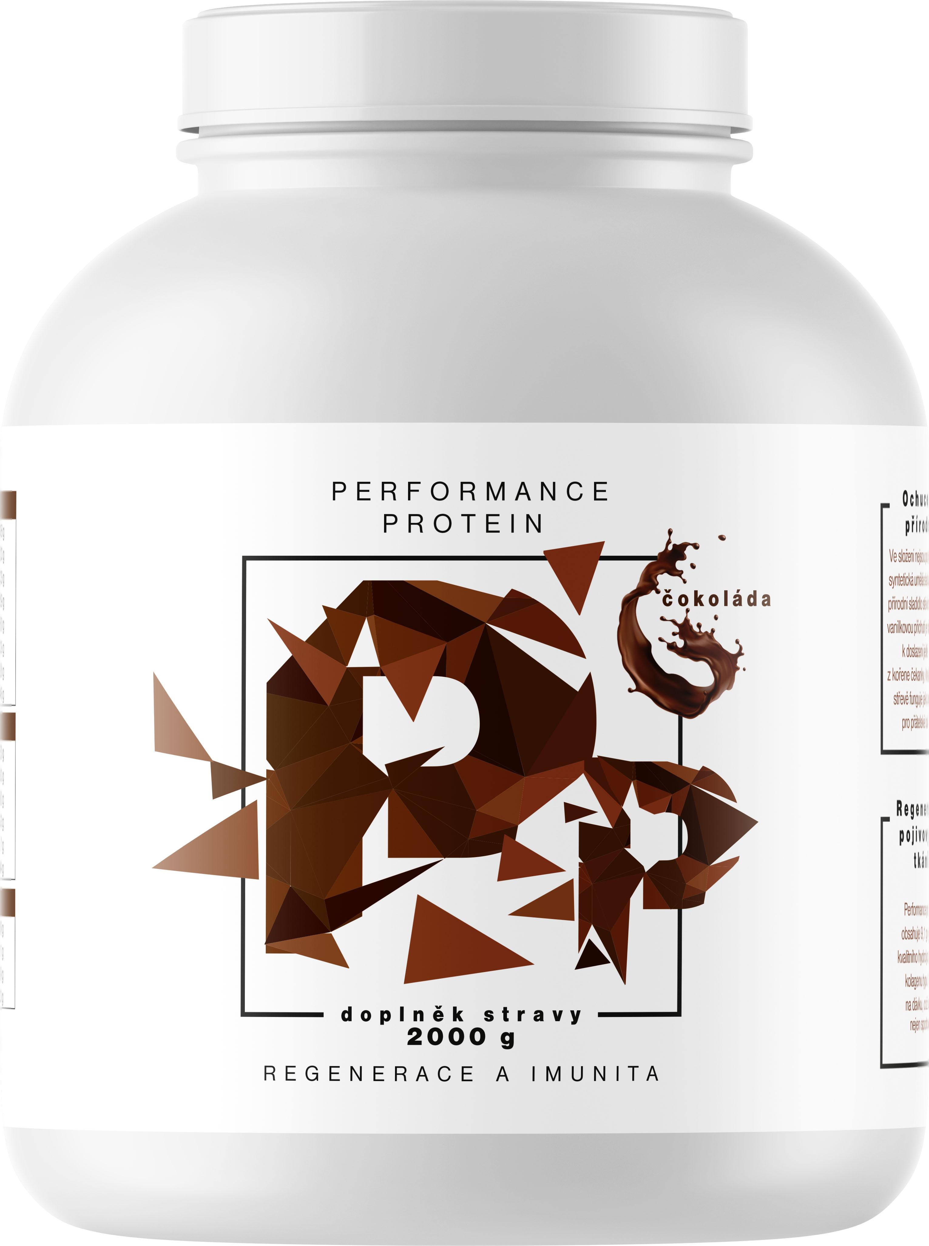 BrainMax Performance Protein Čokoláda 2 kg