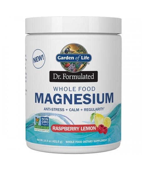 Garden of Life - Magnesium Dr. Formulated (hořčík) - malina a citrón, 419g