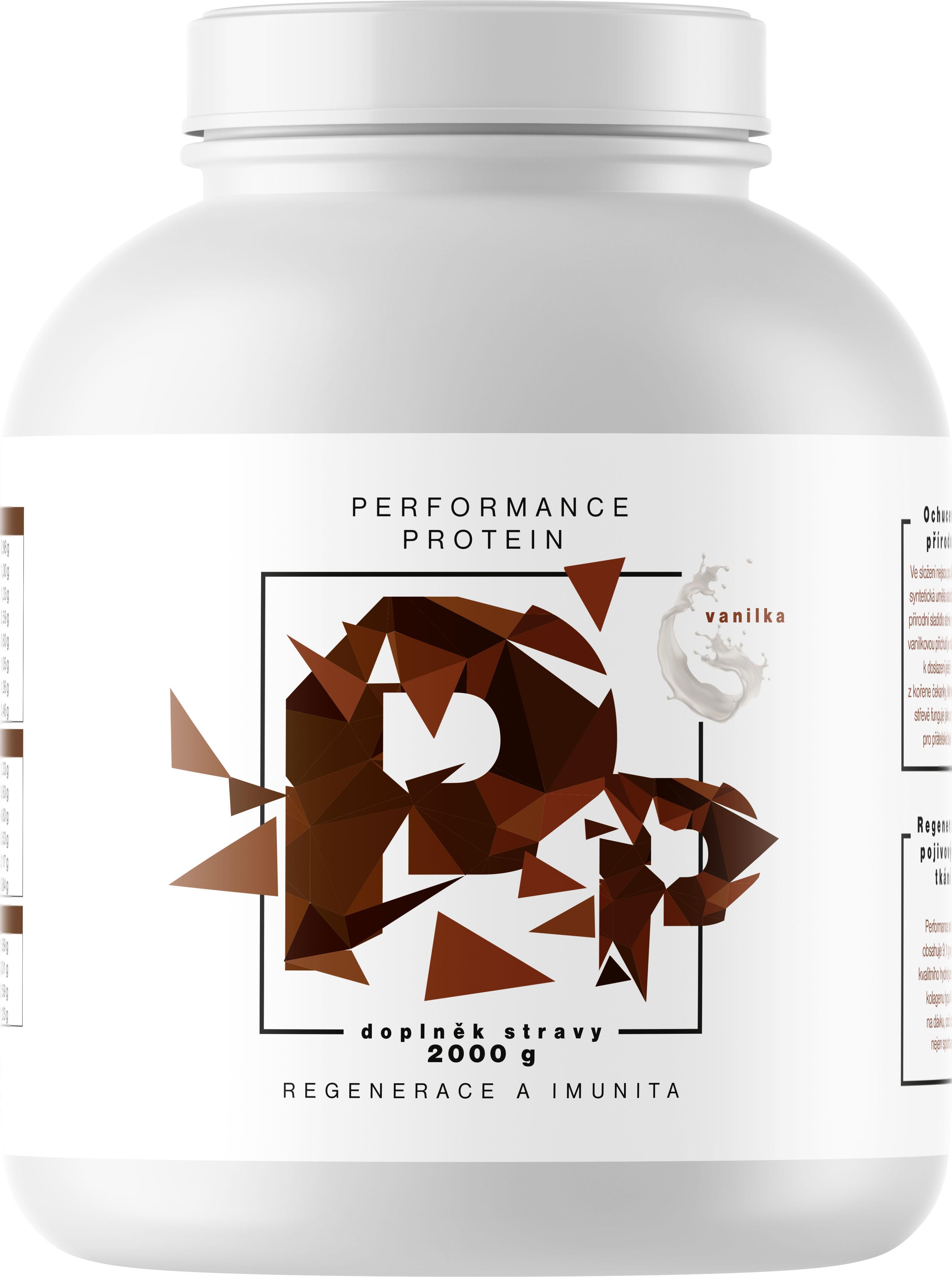 BrainMax Performance Protein Vanilka 2 kg