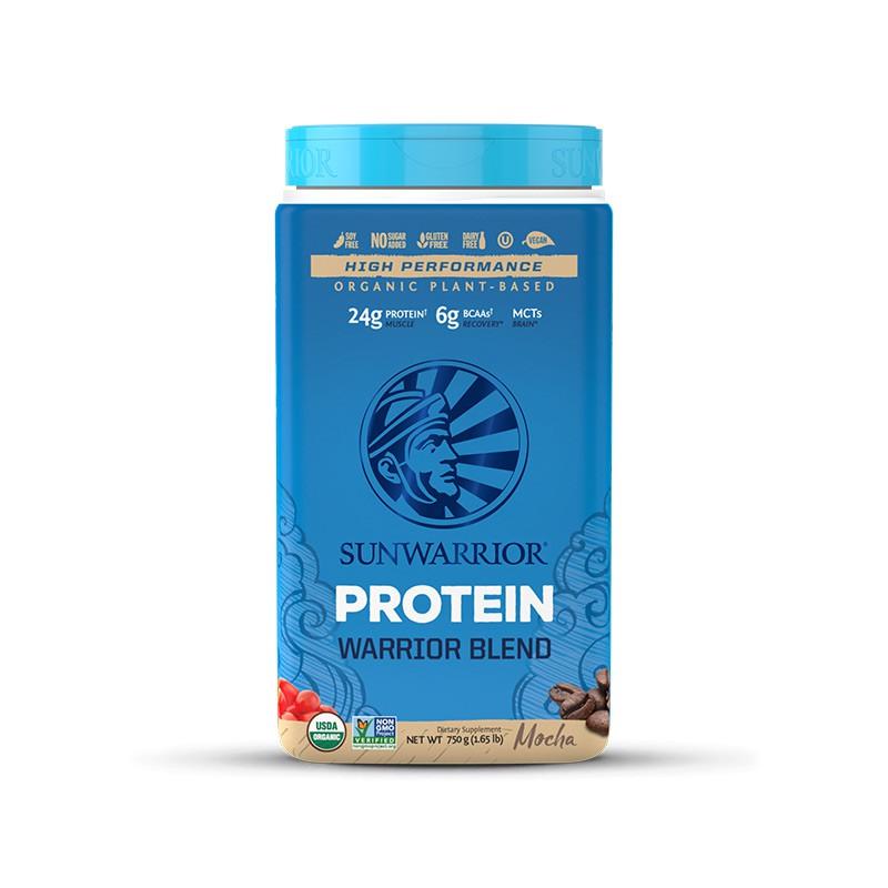 Sunwarrior Protein Blend BIO - Moka - 750 g