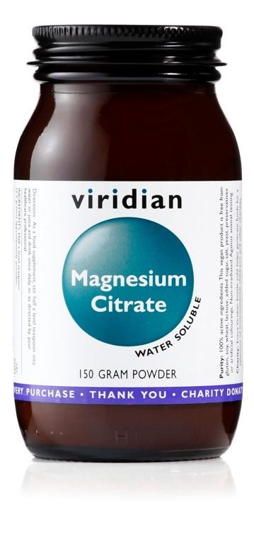 Viridian Magnesium Citrate Powder 150 g