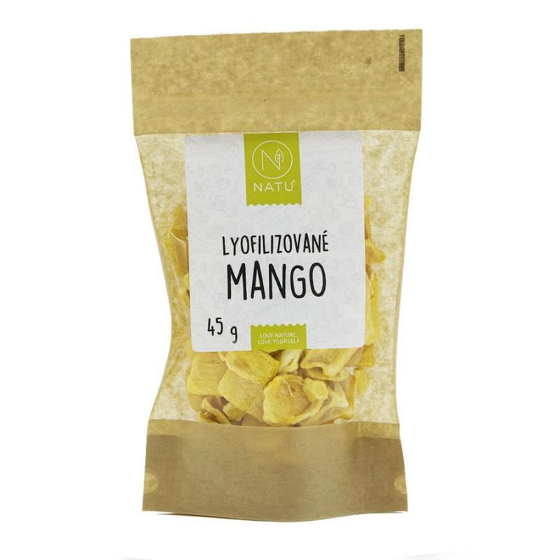 NATU - Lyofilizované mango, 45g *CZ-BIO-003 certifikát