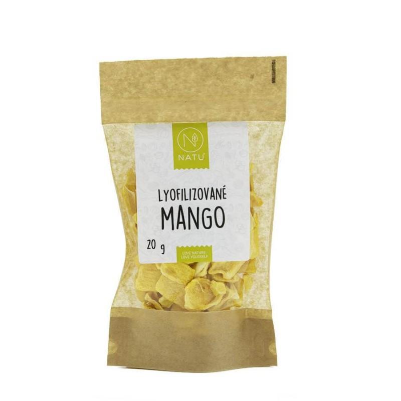 NATU - Lyofilizované mango, 20g *CZ-BIO-003 certifikát