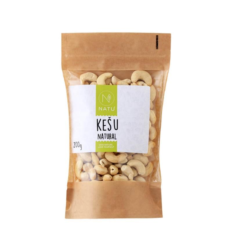 NATU - Kešu ořechy, 200g