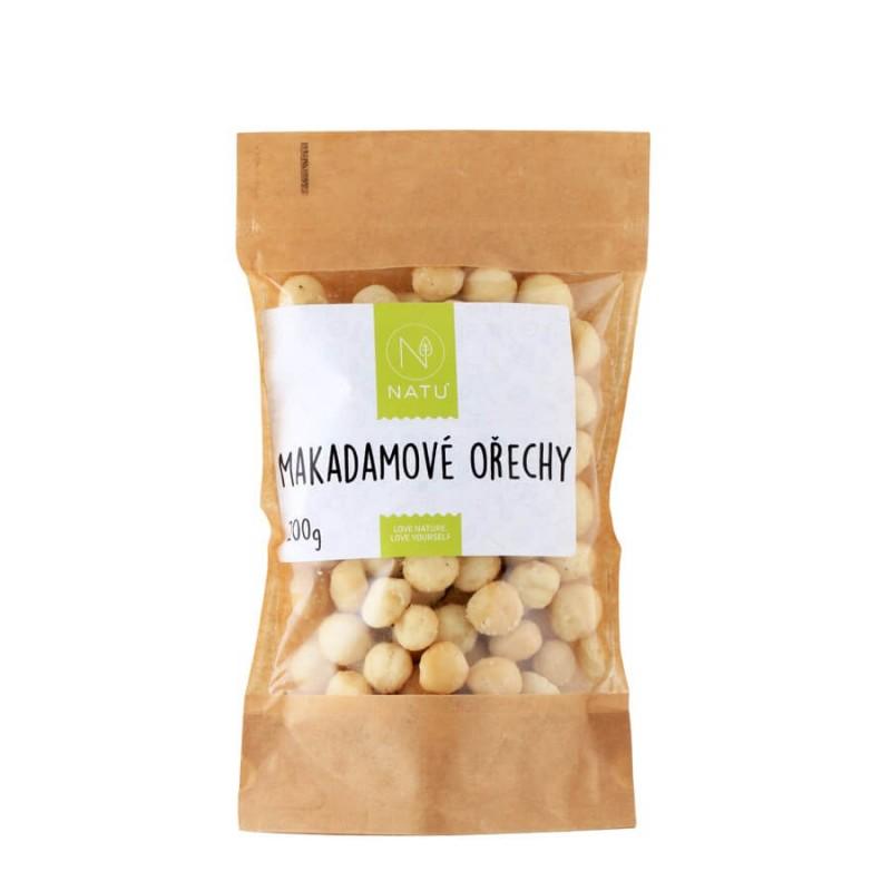 NATU - Makadamové ořechy, 200g