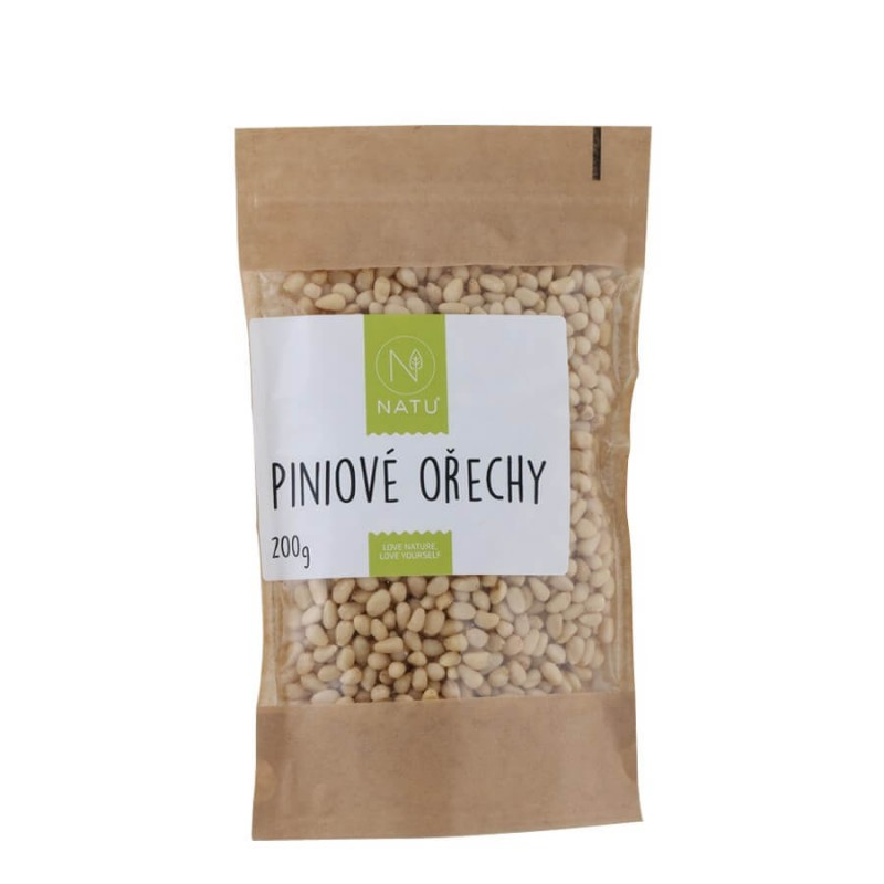 NATU - Piniové ořechy, 200g
