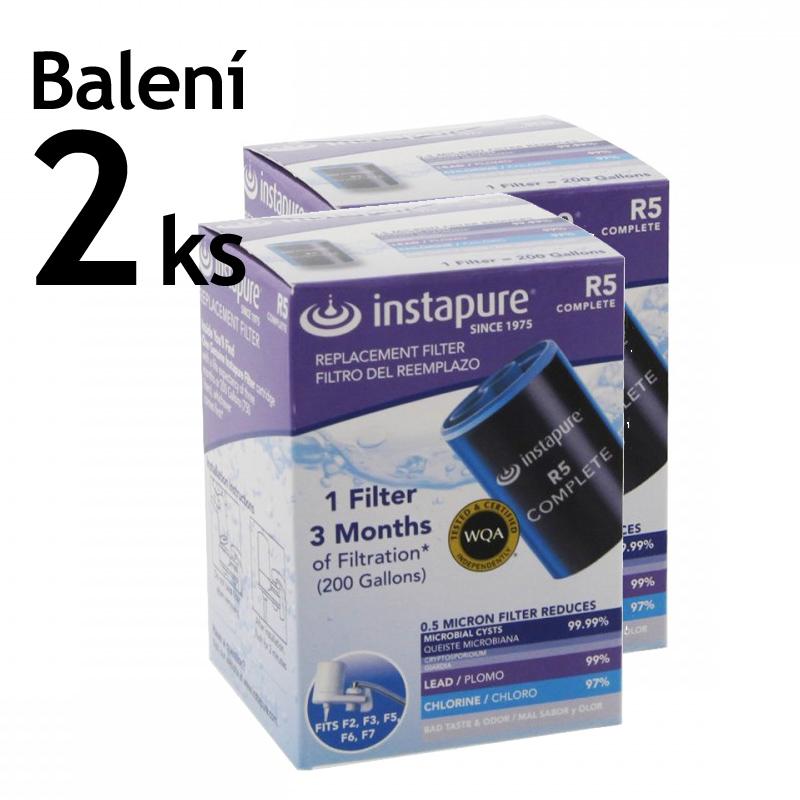 Náhradní filtrační vložky Instapure R5, 2 ks v balení