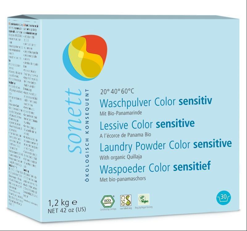 SONETT Prášek na praní COLOR - Sensitive 1,2 kg