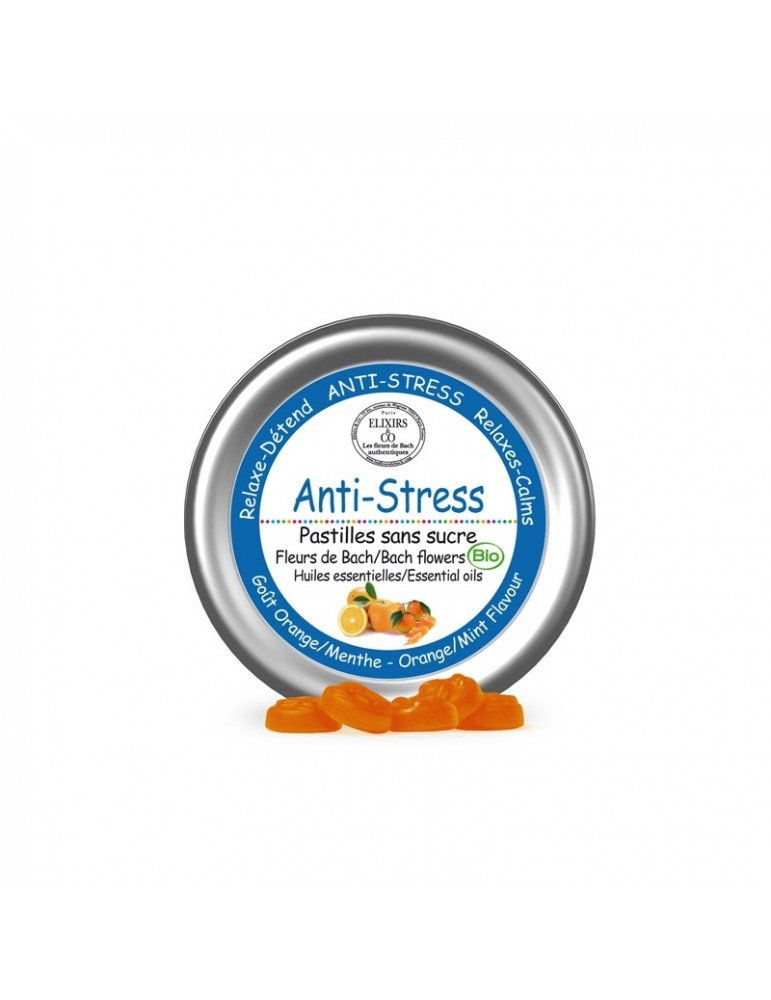 Le Fleurs de Bach Anti-Stres, pastilky 45 g
