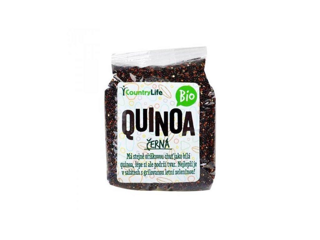 quinoa černá BIO