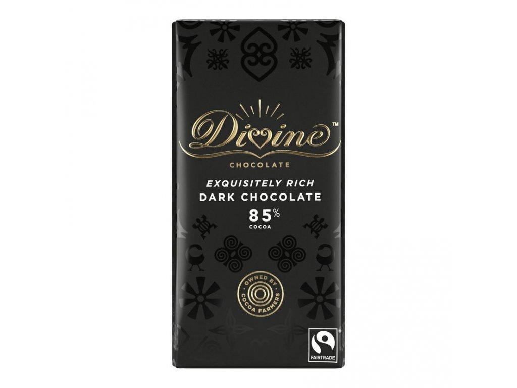 Divine horka cokolada Ghana 85% 90g