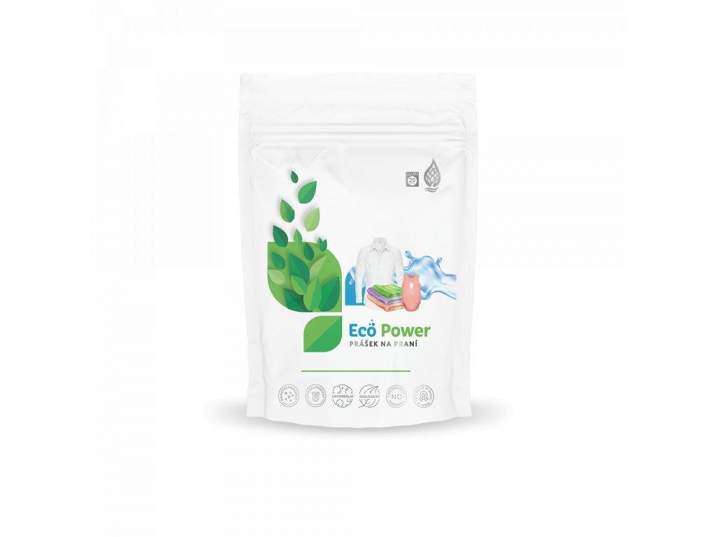 Eco-Power - Prášek na praní (Csomag mérete L - 60 mosás)