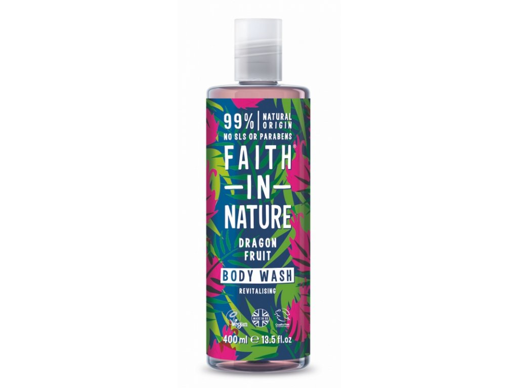 29832 faith in nature sprchovy gel draci ovoce 400 ml