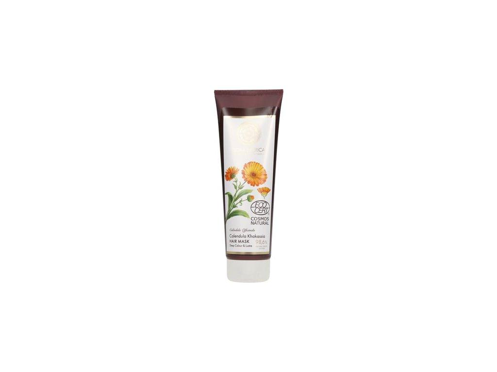 18125 flora siberica maska na vlasy pro zarivou barvu a lesk 200 ml