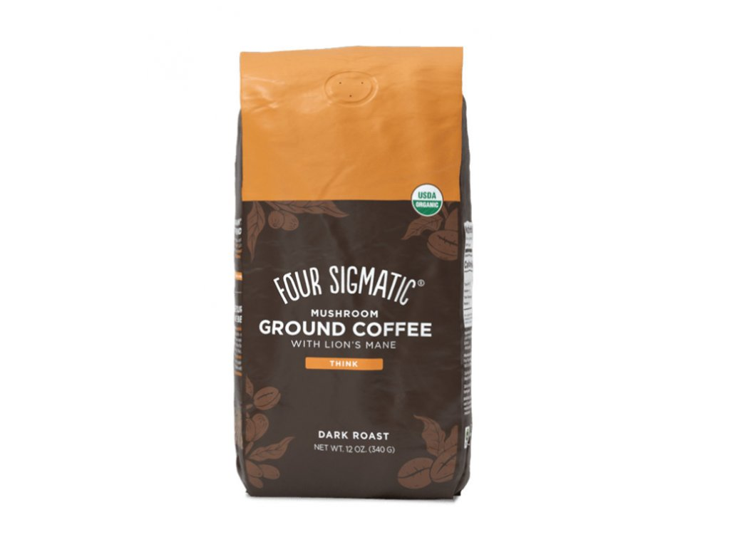 13268 four sigmatic lion s mane mushroom ground coffee mix 340 g