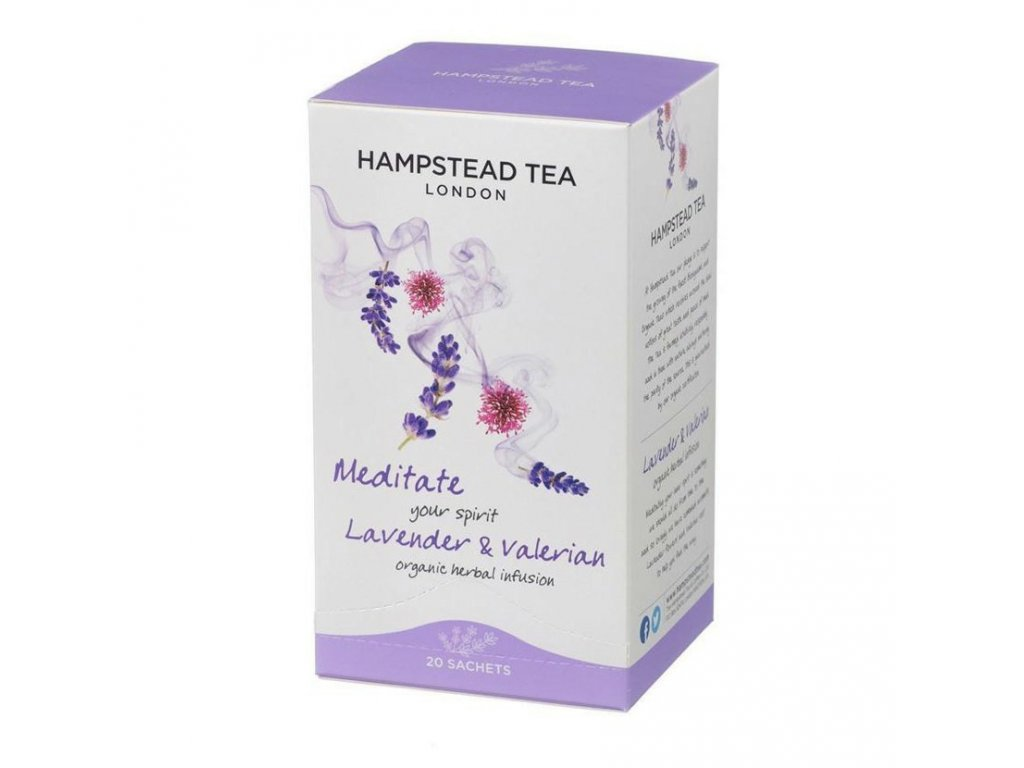Hampstead Tea London BIO bylinny caj s levanduli a kozlikem 20ks