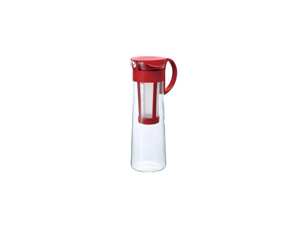 1202 konvice pro pripravu ledove kavy hario mizudashi mcpn 14r cervena 1