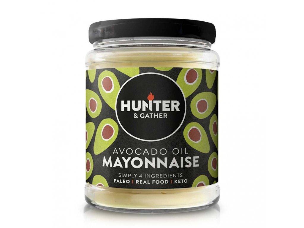 hunter gather classic avocado oil mayonnaise 175g
