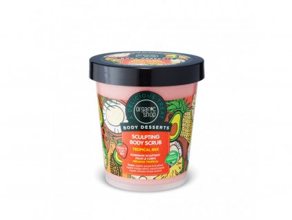 2033 organic shop telovy peeling tropicky mix