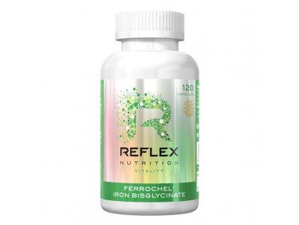 Albionferrochel120capsules Reflex bisglycinat zeleznaty