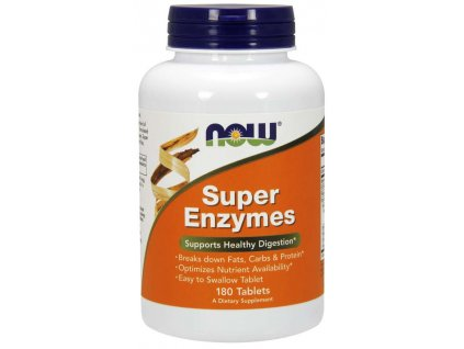 31017 now super enzymes komplexni travici enzymy 180 tablet