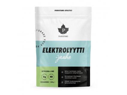 1.Elektrolytti 240 g lime