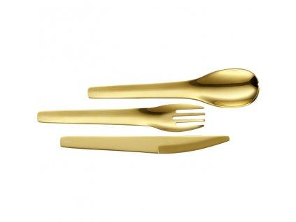 RS3405 240874 Besteck ToGo 3tlg Gold