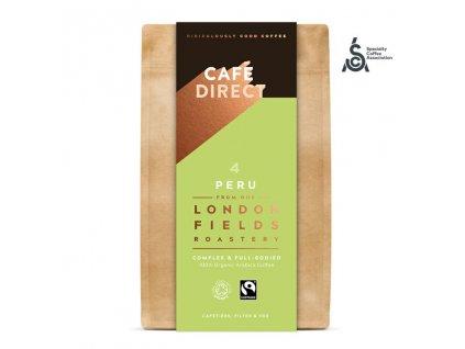 Cafedirect BIO Peru Reserve SCA 82 mleta kava 227g nove