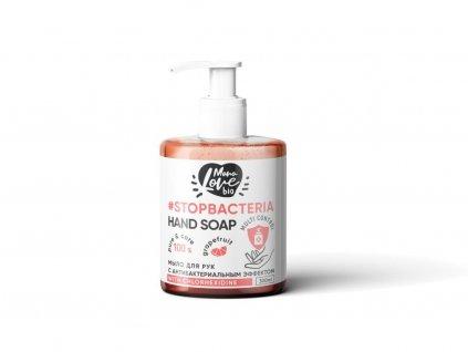32460 bisou bio monolove antibakterialni mydlo na ruce grapefruid tea tree 300 ml
