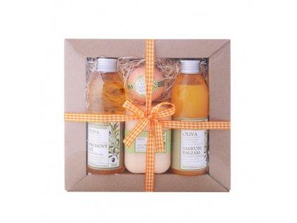 32670 botanico darkova sada v papirove krabicce oliva