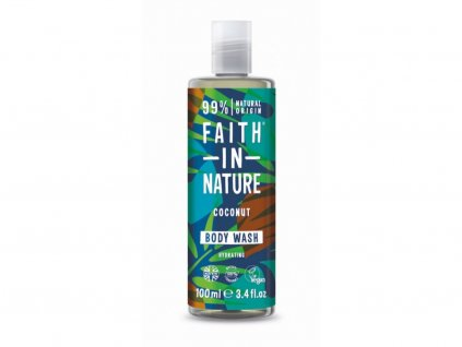 32712 faith in nature sprchovy gel kokos 100 ml
