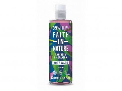 32715 faith in nature sprchovy gel levandule 100 ml