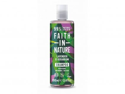 32718 faith in nature sampon levandule 100 ml