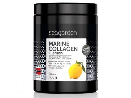 32814 seagarden marine collagen citron 300 g