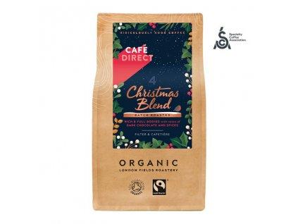 33021 cafedirect christmas blend sca 82 mleta kava peru honduras bio 227g