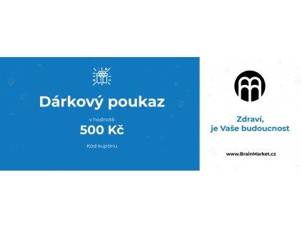 darkový poukaz BrainMarket 500kc