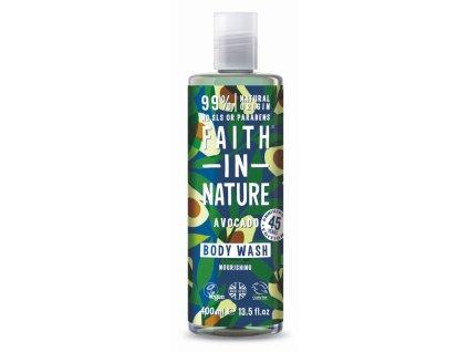 29856 faith in nature sprchovy gel avokado 400 ml