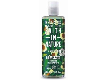 29850 faith in nature sampon avokado 400 ml