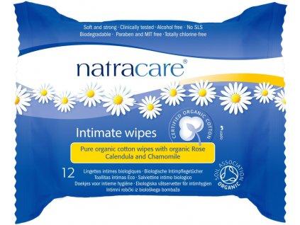 NATRACARE vlhčené ubrousky pro intimní hygienu