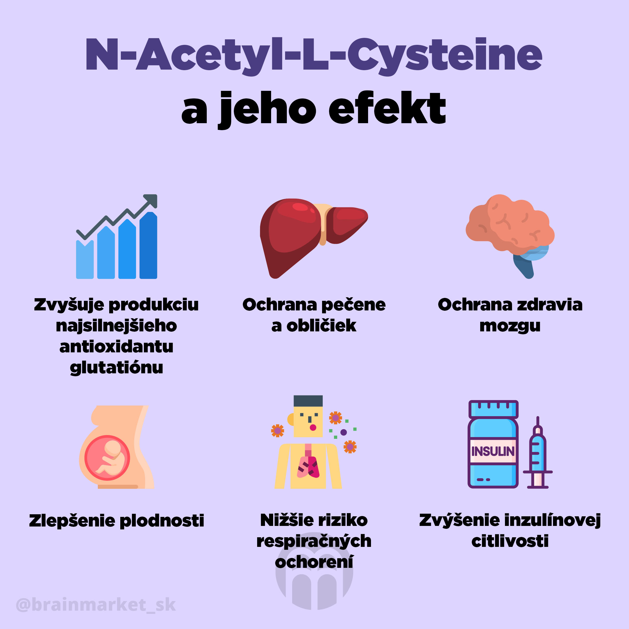 N-Acetyl-L-Cysteine (NAC) - superman medzi antioxidantmi