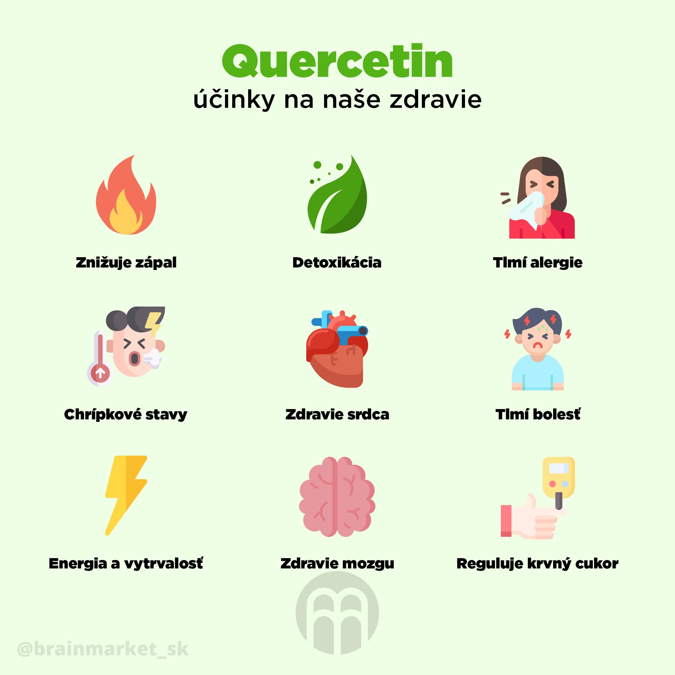 Quercetín = Prírodné riešenie alergie nie len na peľ