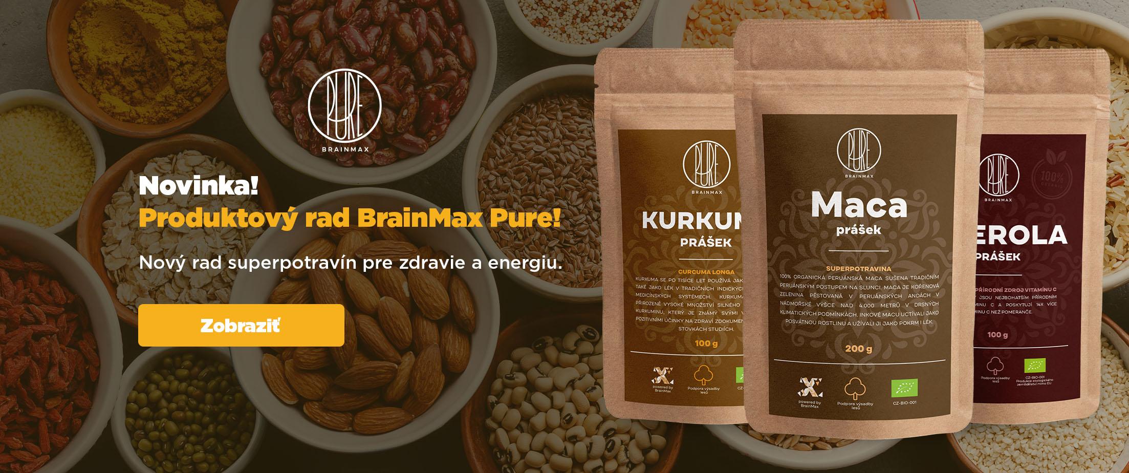 BrainMax Pure predstaveni