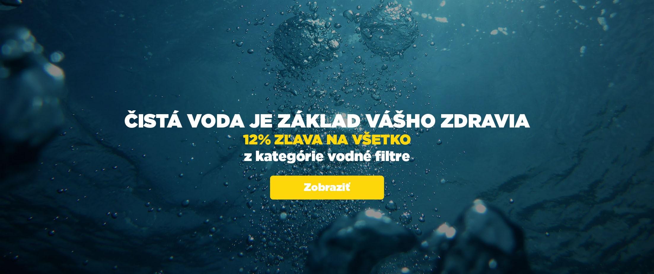 VODA 12% SLEVA