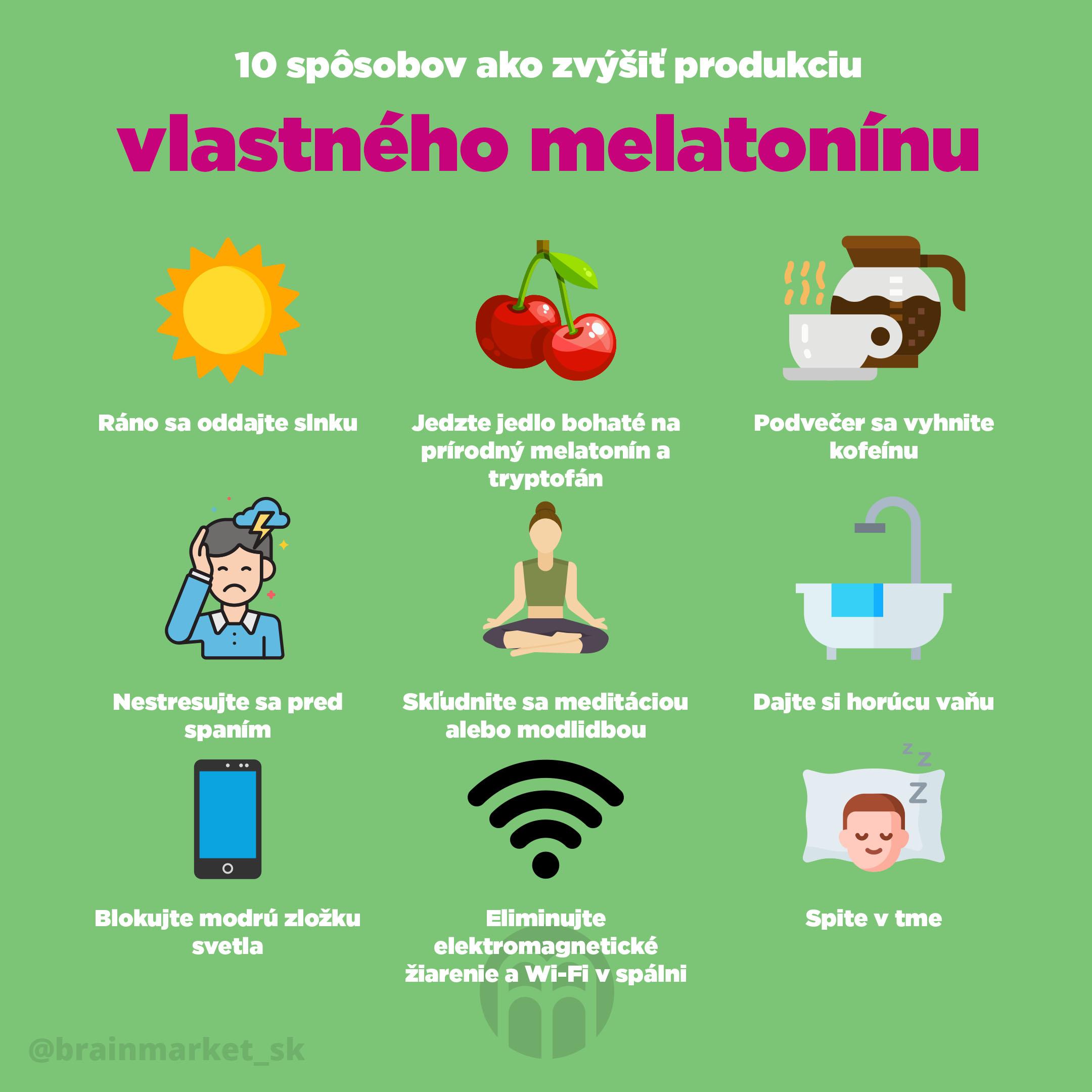 10_zpusobu_ako_zvysit_produkciu_vlastneho_melatoninu_Infografika_Instagram_BrainMarket