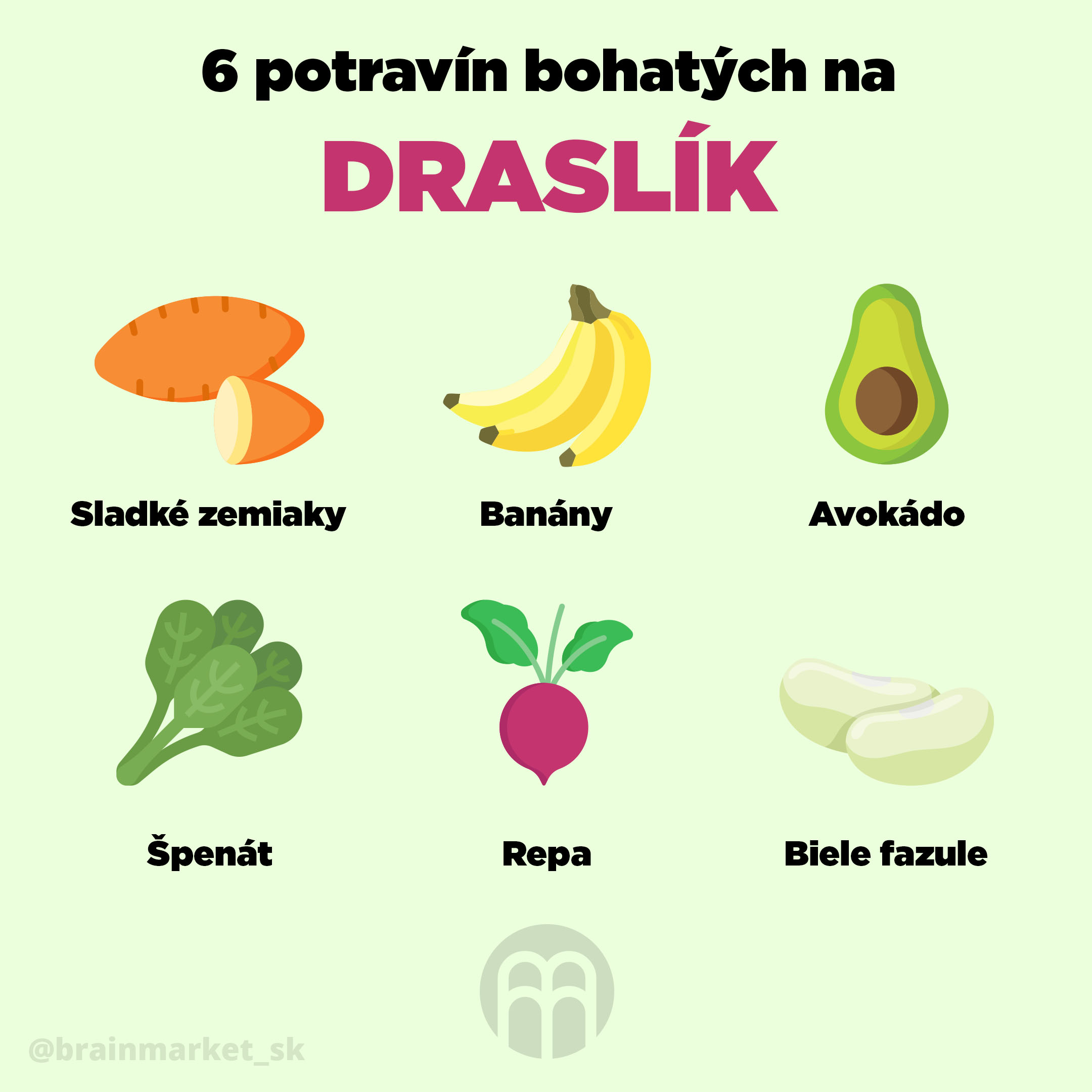 6_potravin_bohatych_na_draslik_SK_Infografika_Instagram_BrainMarket